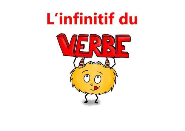 infinitif du verbe